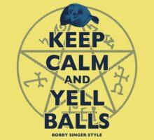 Keep Calm..... Balls! Baby Tee