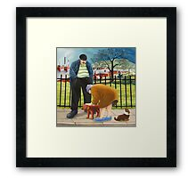 Dog Lovers Framed Print