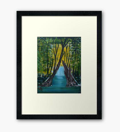 """Forest River""  by Carter L. Shepard Framed Print"