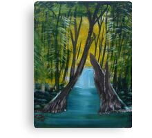 """Forest River""  by Carter L. Shepard Canvas Print"