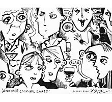 'Another Cocktail Party' Photographic Print