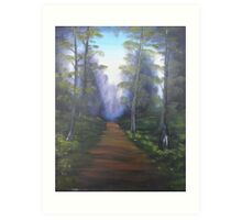 """Forest Path""  by Carter L. Shepard Art Print"