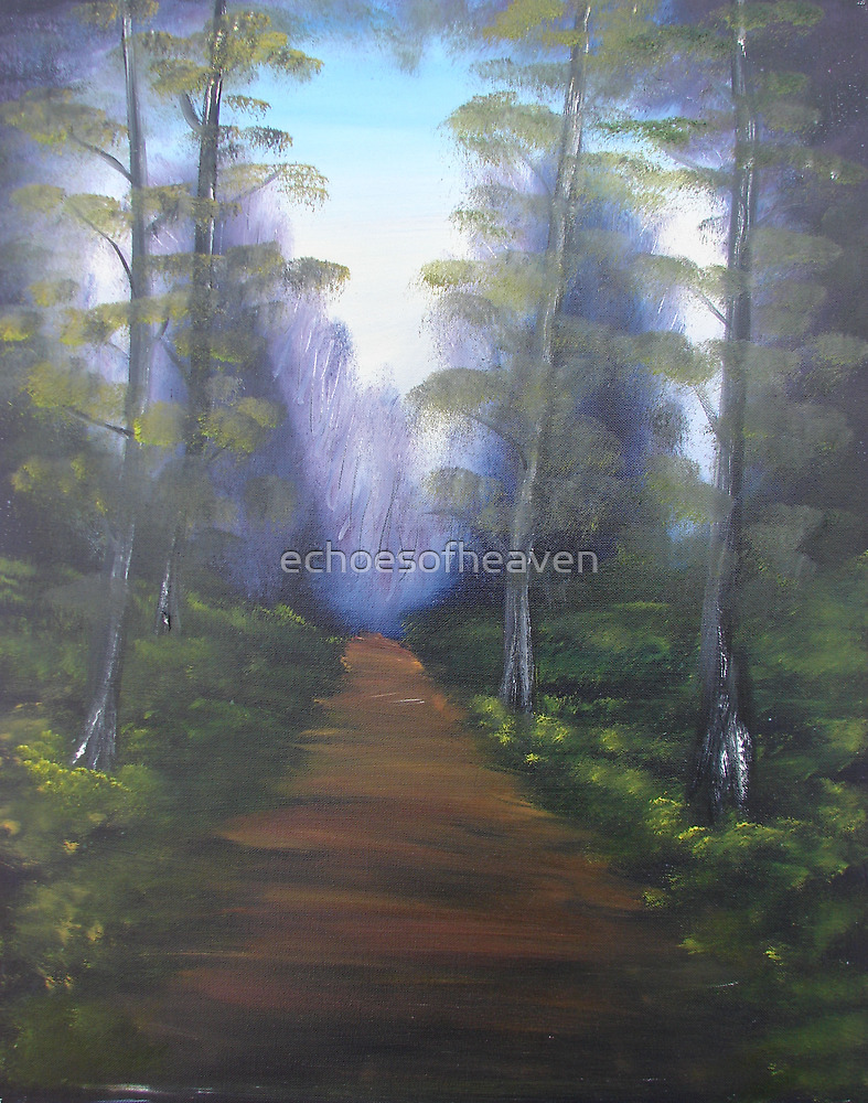 """""""Forest Path""""  by Carter L. Shepard by echoesofheaven"""