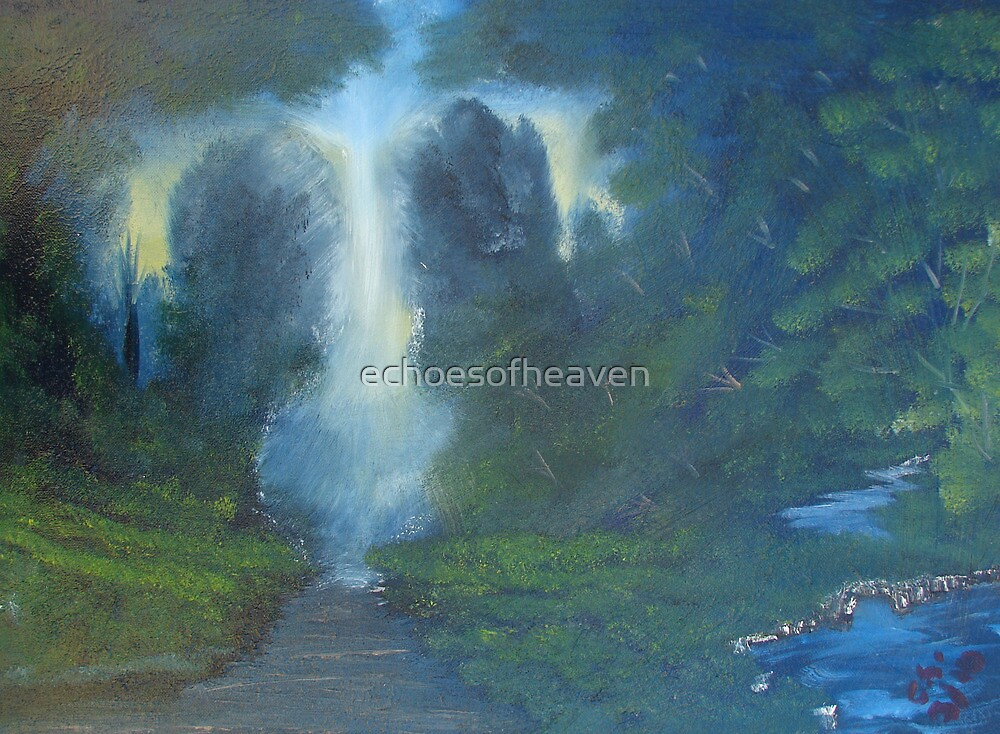 """""""Scenic Path""""  by Carter L. Shepard by echoesofheaven"""