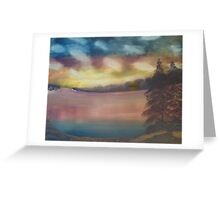 """""""Creation's Colors""""  by Carter L. Shepard Greeting Card"""