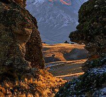 Secret Passage - Nevis Valley, New Zealand by Matthew Kocin