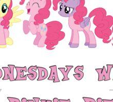 On Wednesdays We Wear Pinkie Pie Sticker