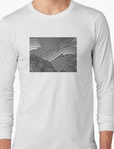 The Greyscale Collection no.1 Long Sleeve T-Shirt