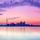 Toronto skyline by Zoltán Duray