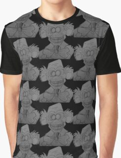 Hitch Hiking Ghost from Disney's Haunted Mansion Graphic T-Shirt