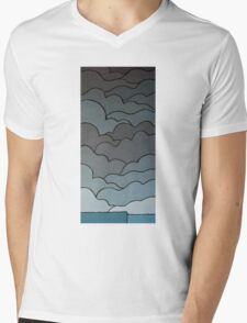 The Greyscale Collection no.3 Mens V-Neck T-Shirt