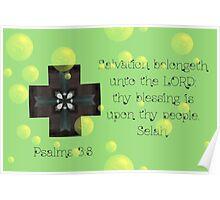 Salvation belongeth unto the Lord Poster