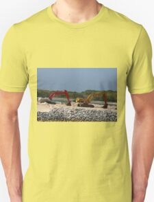 Two Bulldozers T-Shirt