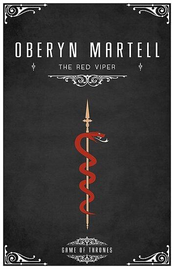 Oberyn Martell Personal Sigil by liquidsouldes