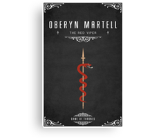 Oberyn Martell Personal Sigil Canvas Print