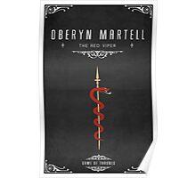 Oberyn Martell Personal Sigil Poster
