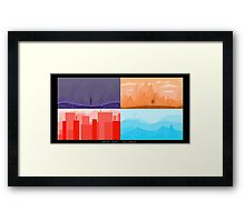 Pixel Atmosphere [01] Framed Print