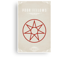 The Poor Fellows Canvas Print
