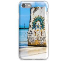 Punks Not Dead on Holbox iPhone Case/Skin
