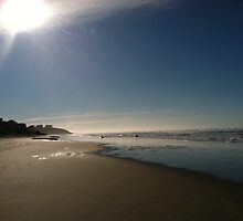 Nye Beach by Tibby Photography