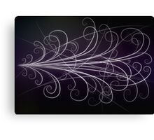Particle Paths Canvas Print