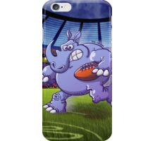 Olympic Rugby Rhinoceros iPhone Case/Skin