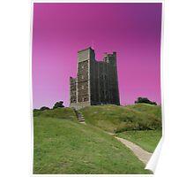 Magenta Skies, Orford Castle Poster