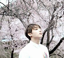 "Jungkook ""Cherry Blossom"" by snugglyone"