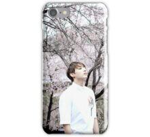 "Jungkook ""Cherry Blossom"" iPhone Case/Skin"
