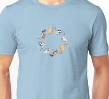 Koi Fish Pond Unisex T-Shirt