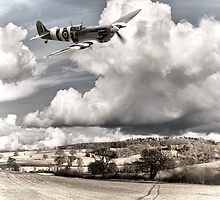 Spitfire Country by Ian Merton