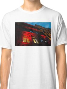 City Night Walks - the Red Facade Classic T-Shirt