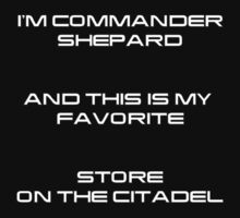 Commander Shepard t-shirt 2 by Gqualizza