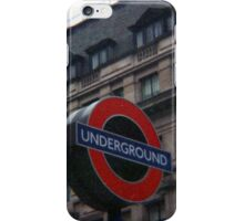 Oxford Street Station iPhone Case/Skin