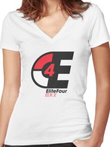 EliteFour Women's Fitted V-Neck T-Shirt