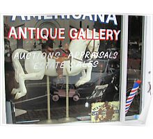 Americana Antique Gallery Poster