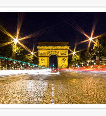 Arc De Triomphe 10 Sticker