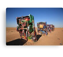 Route 66 - Cadillac Ranch Canvas Print