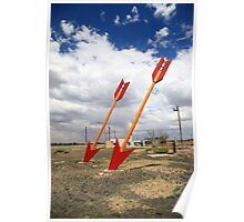 Route 66 - Twin Arrows Trading Post Poster