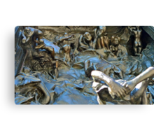 """Detail of Rodin's """"Gates Of Hell"""" Canvas Print"""