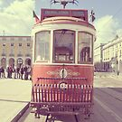 City Tour Tram, Lisbon, Portugal by Ana  Eugnio