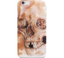 a skull  iPhone Case/Skin