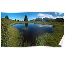 Hikers Paradise in Tirol Poster