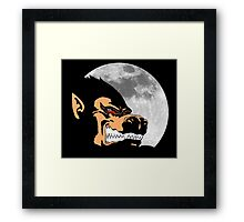 Night Monkey Framed Print