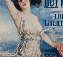 Fight or buy bonds Third Liberty Loan Sticker
