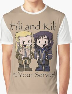 Little Fili and Kili Graphic T-Shirt
