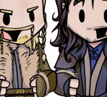Little Fili and Kili Sticker