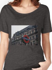 Oxford Street Station Women's Relaxed Fit T-Shirt