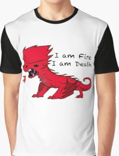 Baby Smaug - I am Fire, I am Death Graphic T-Shirt