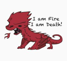 Baby Smaug - I am Fire, I am Death One Piece - Short Sleeve